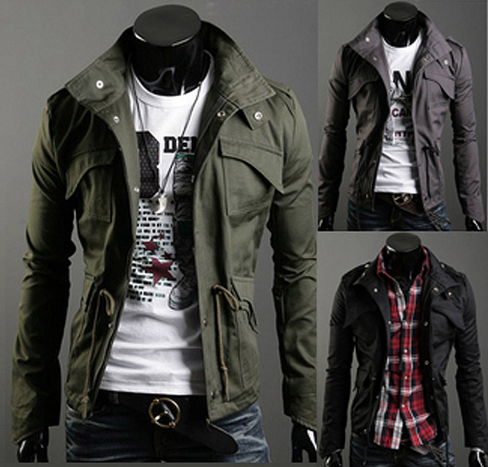Military Style Winter Jackets in 2020 | Mens military style jacket .