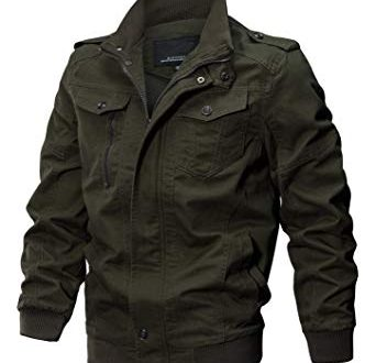 Make your style with perfect military jackets these winters .