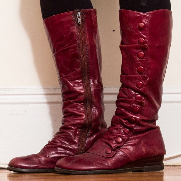 Miz Mooz Shoes | Bloom Boot Burgundy | Poshma