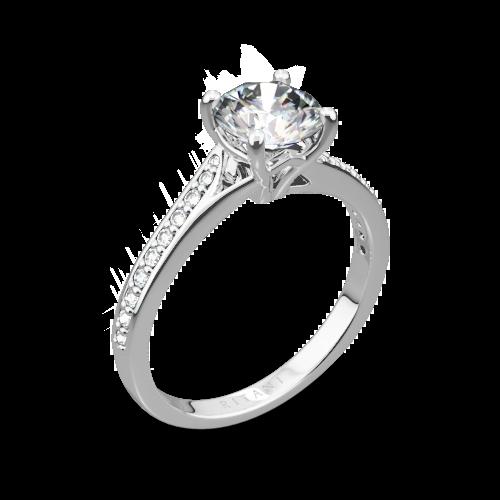 Ritani 1RZ2490 Modern Diamond Engagement Ring | 44