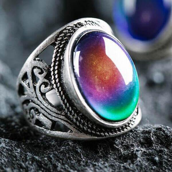 Best New Age Mood Ring | Yoga Mandala Sh