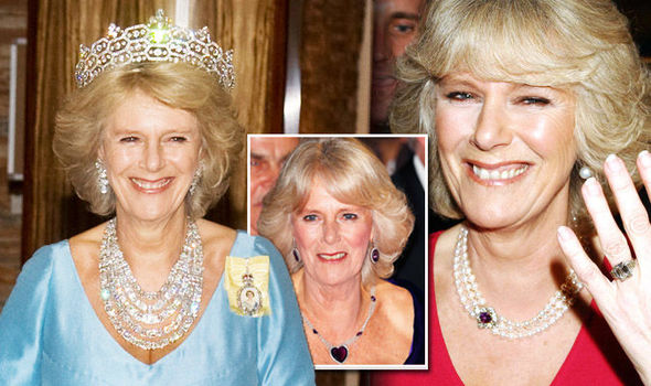 Camilla Parker Bowles: Royal jewels including the Queen Mother's .