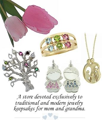 Mothers Rings and Specialty Mothers Jewelry - Family Rings and .