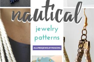 19 Nautical Jewelry Patterns | AllFreeJewelryMaking.c