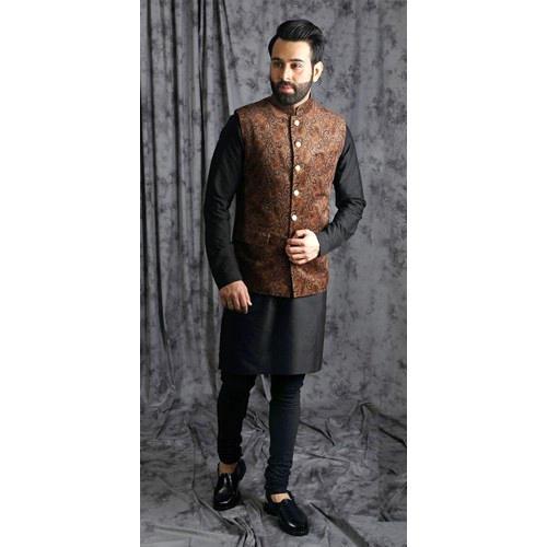 38.0 &44.0 Designer Nehru Jacket Set, Rs 3500 /set, Create N Stich .
