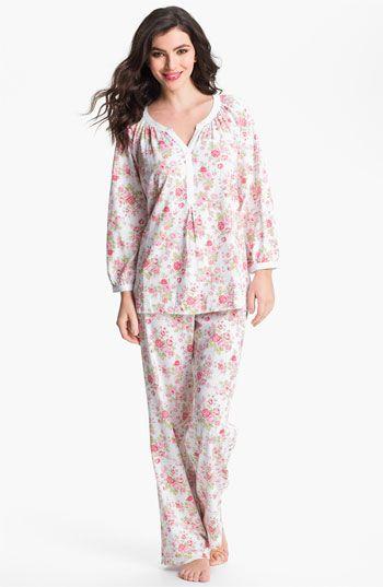 Carole Hochman Designs Floral Print Pajamas | Pajamas, Night suit .