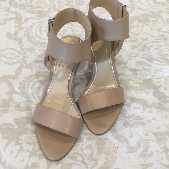 Jessica Simpson Shoes | Nude Color Heels | Poshma