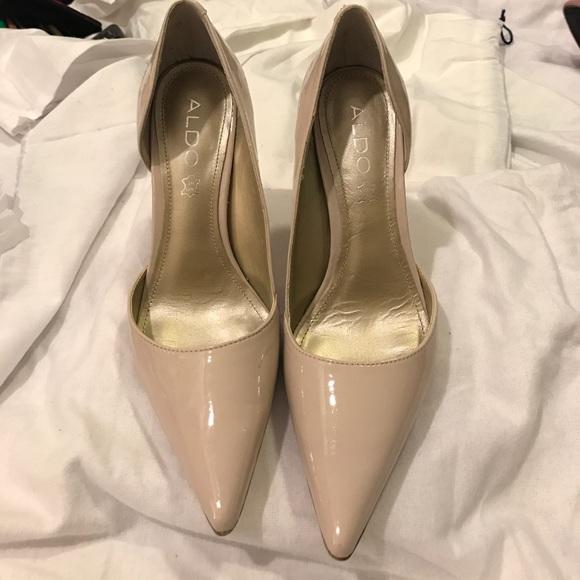 Aldo Shoes | Nude Color Heels | Poshma