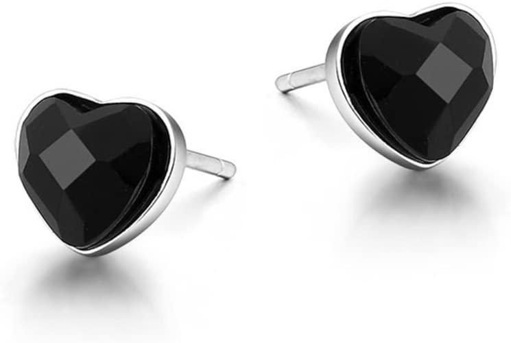Amazon.com: S925 fungus-nail/Black Onyx earrings ear acupuncture .