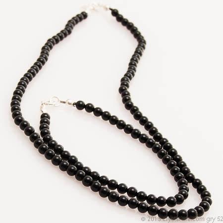 Black Onyx Necklace | Gemstone Therapy | Crystal Life Technology, i