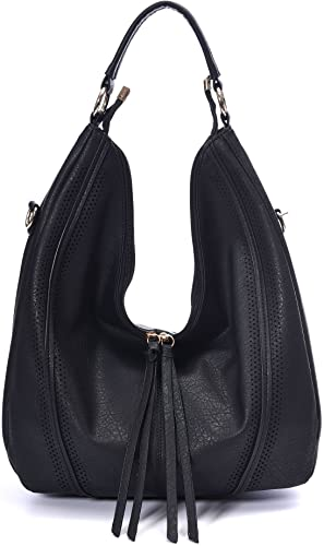 Amazon.com: Women Hobo Bags Oversized Leather Purse Handbags PU .