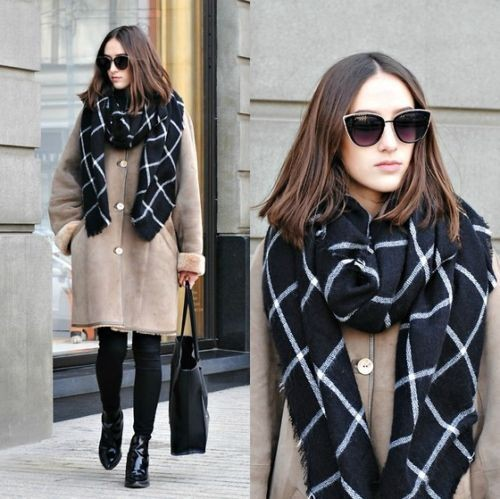 19 Oversized Scarf Patterns – Cool Scar