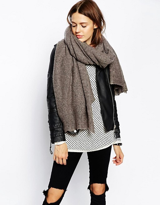 ASOS Oversized Knit Scarf | AS
