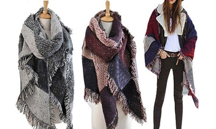 Vincenza Women's Oversized Blanket Scarf | Group