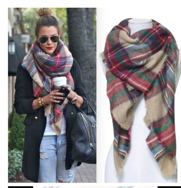 Oversized Scarves For Fall And Winter – thelatestfashiontrends.c