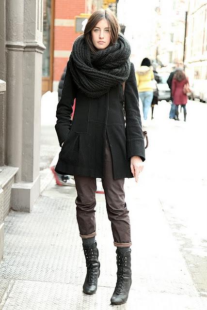 Chunky oversized scarfs keep us warm! – Nolita Hearts N
