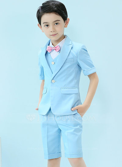 Boys 5 Pieces Cute Ring Bearer Suits /Page Boy Suits With Jacket .