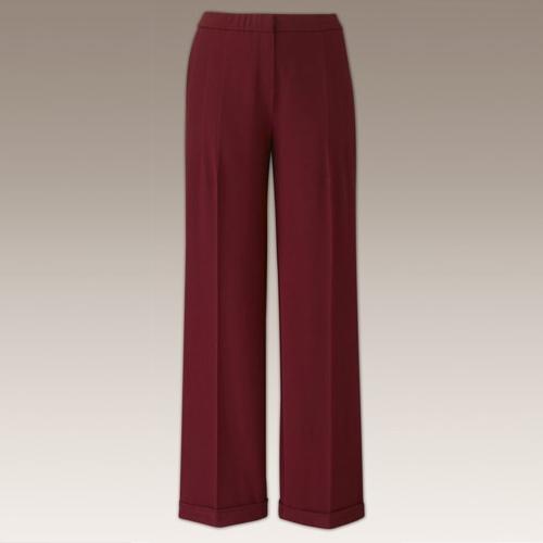 Ladies Womens Wide Leg Palazzo Trousers Plus Size Work Office Wear .