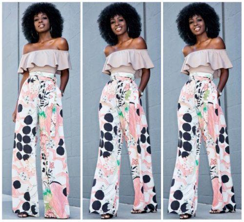 Fashion Friday - Palazzo Trousers | Lagosmu