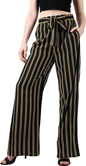 Ma Croix Womens Linen Pants Drawstring Casual Lantern Palazzo .