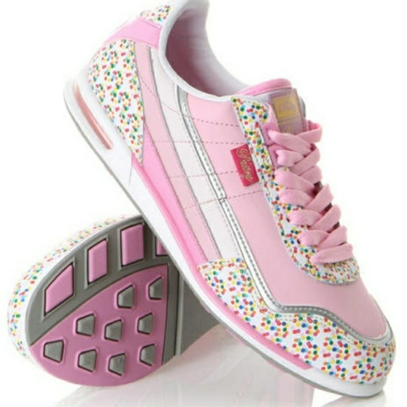 pastry Shoes | Sprinkle Girls Sz 8 Sneakers | Poshma