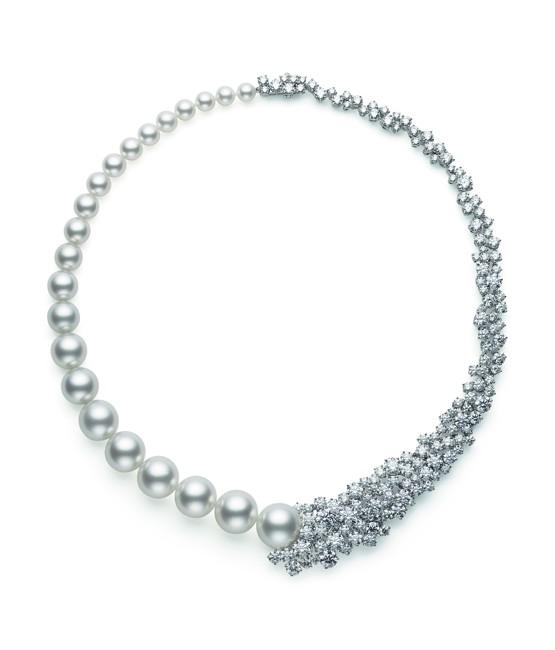 Prestige Akoya & White South Sea Cultured Pearl and Diamond .