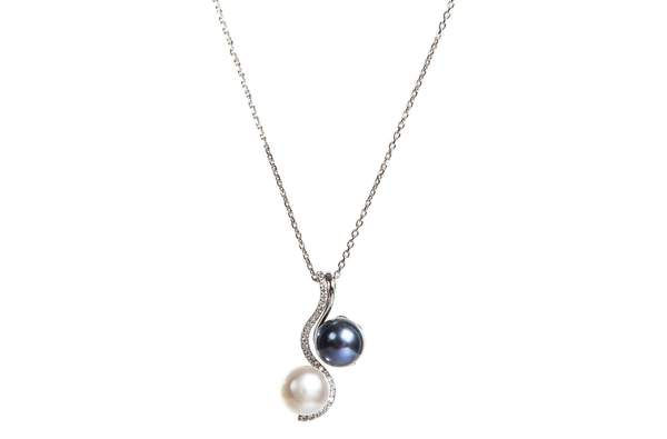 2 in 1 Freshwater Pearl Pendant Chain Necklace – Pearl Ra