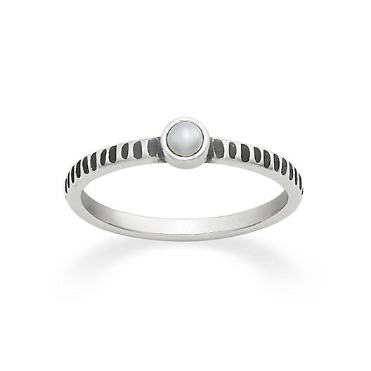 Tiny Cultured Pearl Ring - James Ave