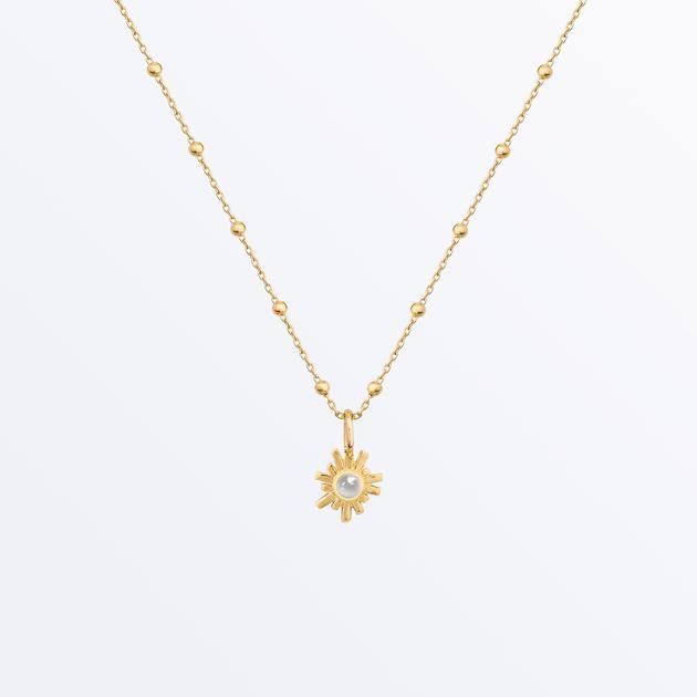 Moonstone Pendant Necklace - Rebecca   Ana Luisa Jewel