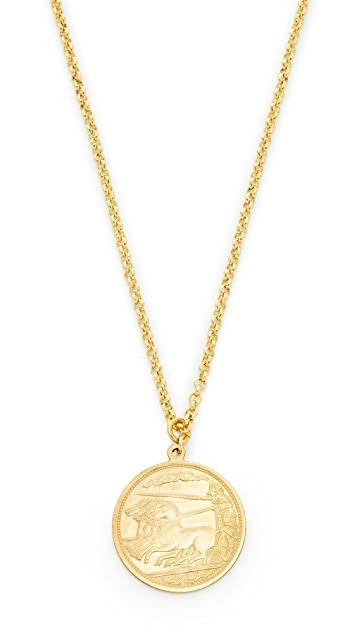 Shashi Warrior Pendant Necklace   SHOPB