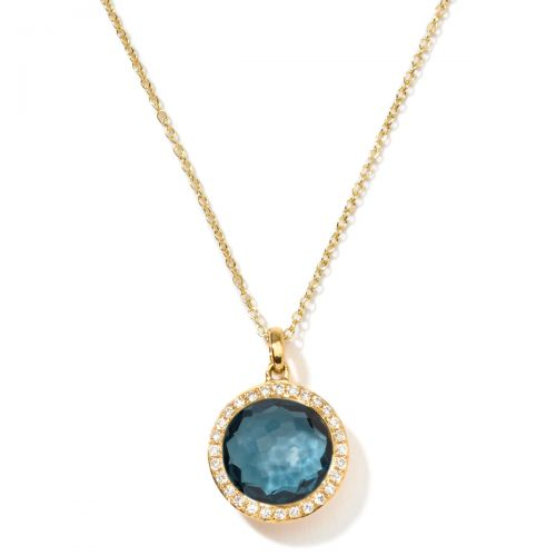 IPPOLITA Lollipop® Small Pendant Necklace in 18K Gold with Diamon