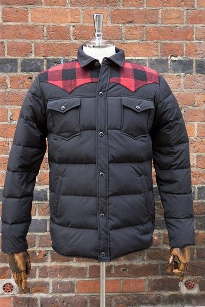 Penfield Rockford Down Jacket Black - American Classics Lond