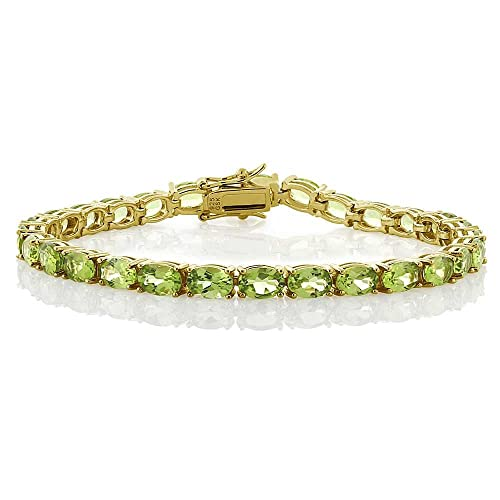 Peridot Bracelet: Amazon.c