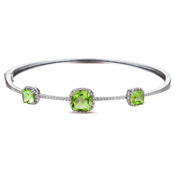 Some Ideas Of How To Wear Peridot Bracelet - StyleSkier.c