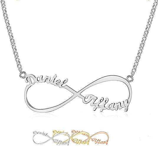 Amazon.com: Lam Hub Fong Custom Infinity Name Necklace .