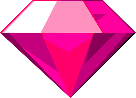 Chaos Emerald (Pink) by Rapper1996 on DeviantA