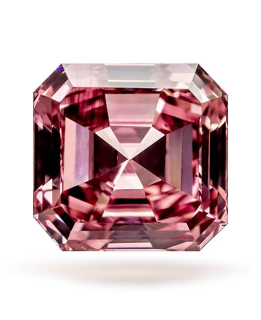 0.55 ct Fancy Intense 'Argyle' Pink Emerald Cut VS2 | Guildhall .