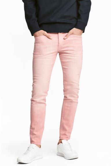 Skinny Jeans - Light pink denim - Men | H&M