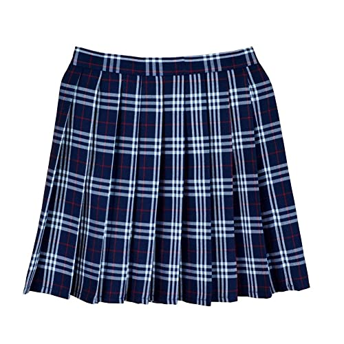 Blue Plaid Skirts: Amazon.c