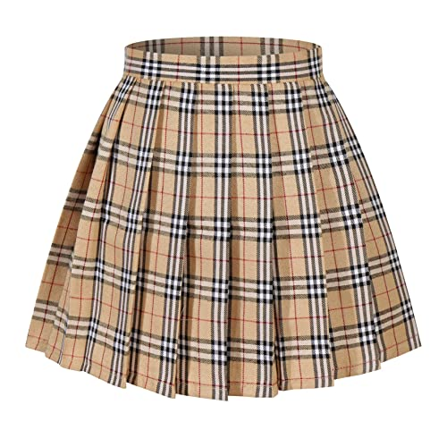 Plaid Skirt: Amazon.c