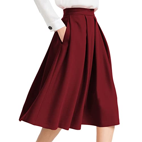 Pleated Skirt: Amazon.c
