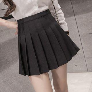 Rosehedge Pleated Mini Skirt | YesSty