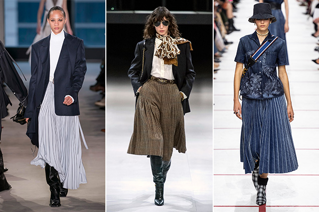 25 Must-Have Pleated Midi Skirts for Fall - theFashionSp