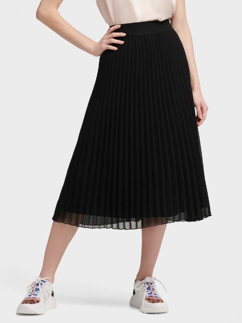 Pleated Skirt-Skirts & Shorts-Women-DKNY- Donna Kar