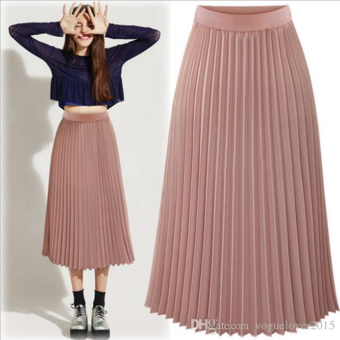 Pleated skirt for women strict, accurate, simple and yet feminine .