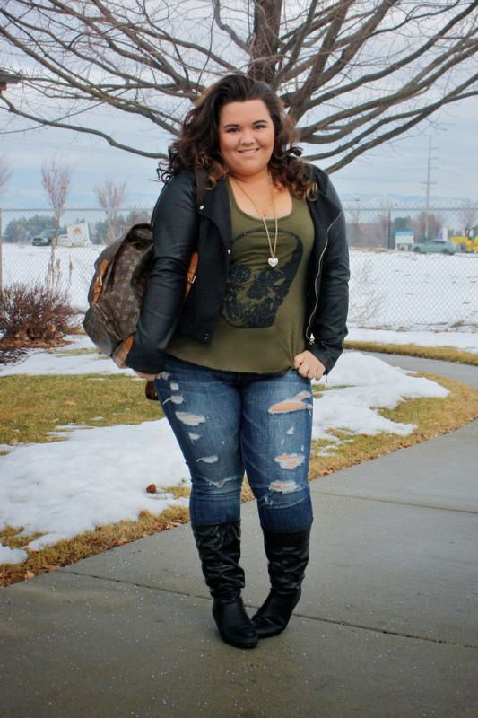 Plus Size Junior Clothing 5 best outfits - curvyoutfits.c