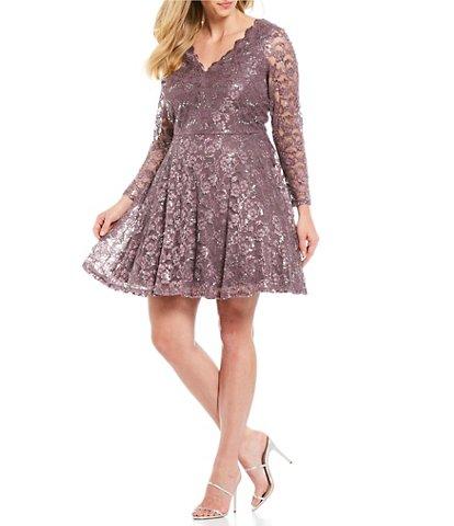 Purple Juniors' Plus-Size Clothing | Dillard