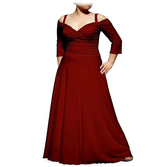 Plus size special occasion dresses with sleeves 20