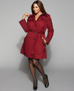 Plus Size Trench Coat | WardrobeMag.c