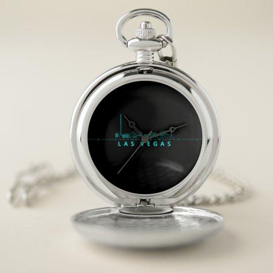 Las Vegas - Digital Pocket Watch | Zazzle.c